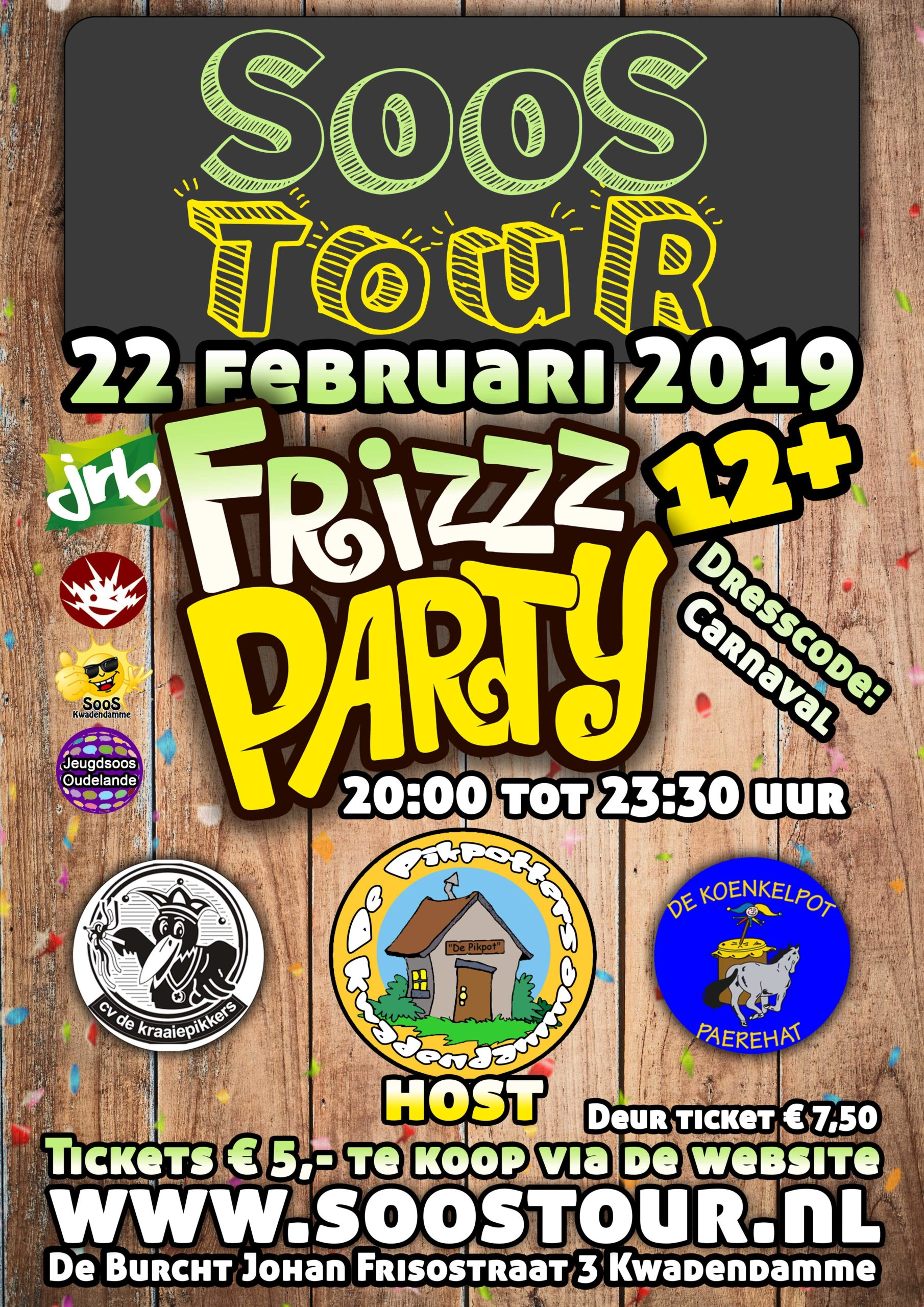 Frizzparty Carnaval 2019